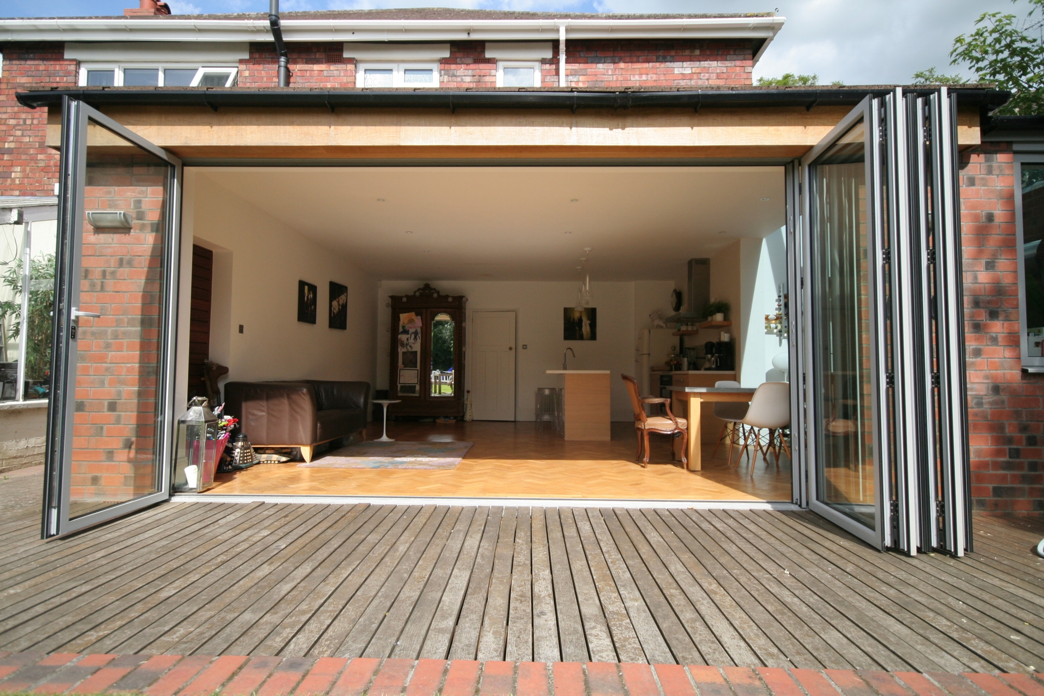 extension and folding doors