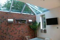extension with natural light