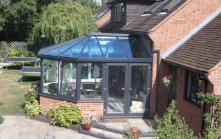 conservatory build in Oxford