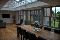 Conservatory interior on an Oxfordshire home by Regal Homemaker