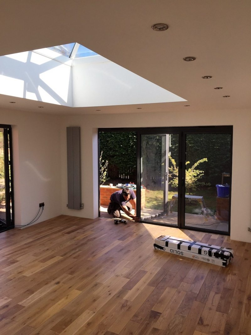 extension in oxfordshire by Regal Homemaker