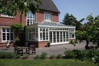 high end conservatory build in Oxford
