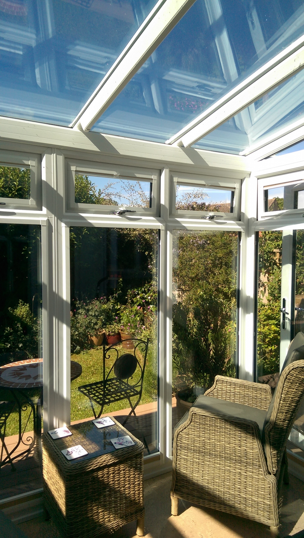 garden conservatory in Oxford by Regal Homemaker