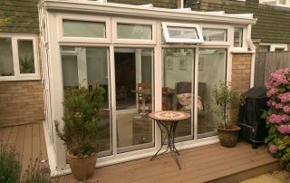 small garden conservatory in Oxford by Regal Homemaker