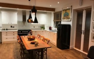 kitchen interior refurbishment in Oxford